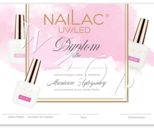Dołączyliśmy do wykwalifikowanej kadry szkoleniowców marki NaiLac